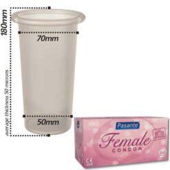 Productafbeelding Pasante Female Condooms