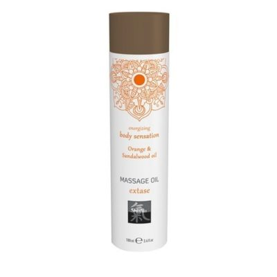 Productafbeelding Extase Massage Olie - Sinaasappel & Sandelhout