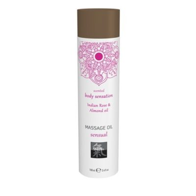 Productafbeelding Sensual Massage Olie - Indiase Roos & Amandel