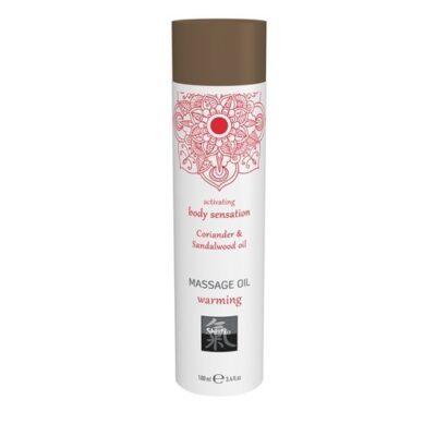 Productafbeelding Verwarmde Massage Olie - Koriander & Sandelhout