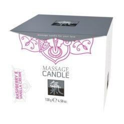Productafbeelding Framboos & Vanille Massagekaars