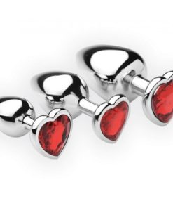Productafbeelding Hearts Buttplug Set - 3-Delig