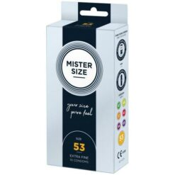 Productafbeelding Mister Size 53mm Condooms